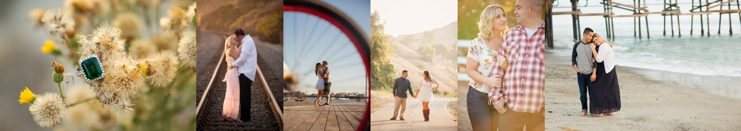Southern California Engagement Photographer Beach Park Ranch Farm Sunset Waves Truck Kirstin Burrows Photography_0086